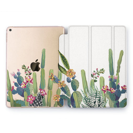Lex Altern Watercolor Cactus Case for your Apple tablet.