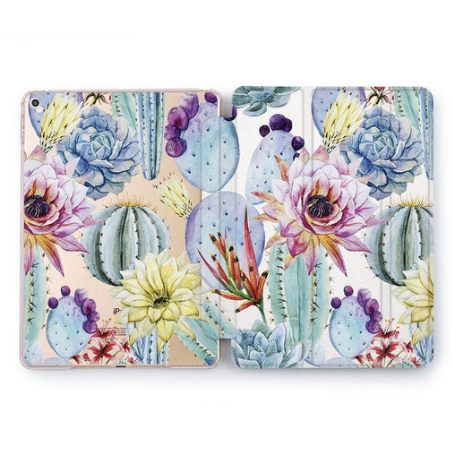 Lex Altern Flower Cactus Case for your Apple tablet.