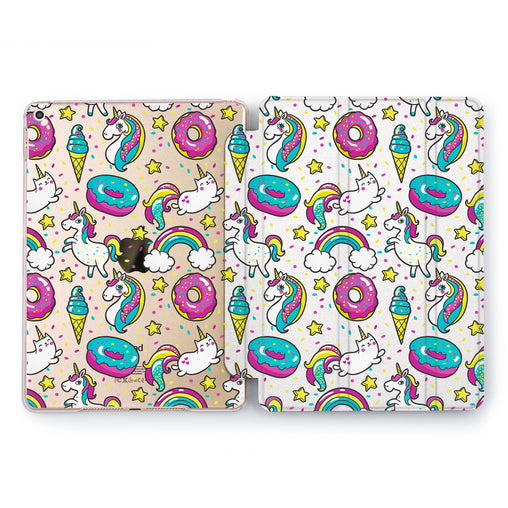 Lex Altern Kawaii Unicorn Case for your Apple tablet.