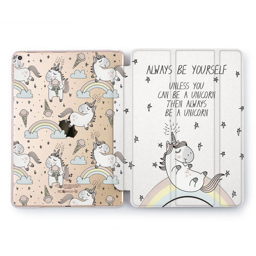 Lex Altern Unicorn Pattern Case for your Apple tablet.