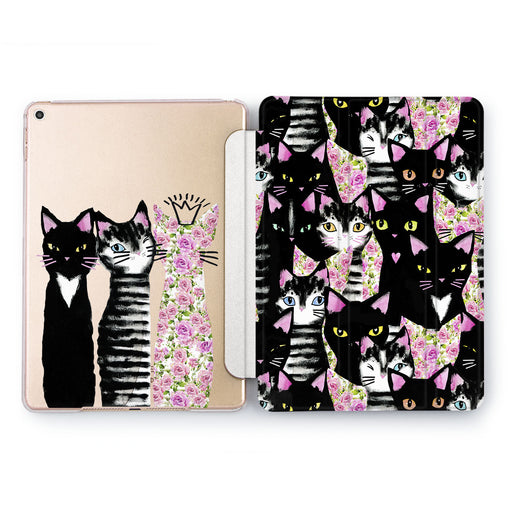 Lex Altern Cute Cats Case for your Apple tablet.