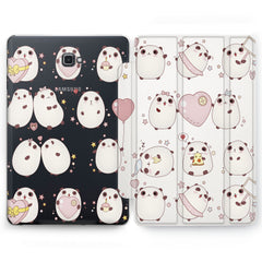 Lex Altern Panda Pattern Case for your Samsung Galaxy tablet.