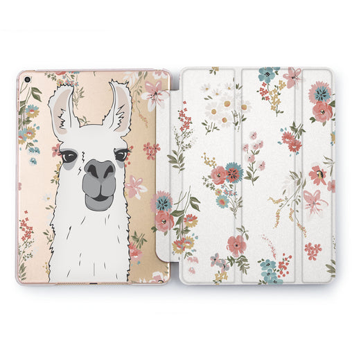Lex Altern Cute Llama Case for your Apple tablet.
