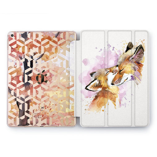 Lex Altern Little Fox Case for your Apple tablet.