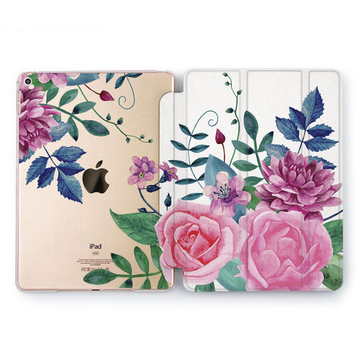 Lex Altern Cute Flowers Case for your Apple tablet.