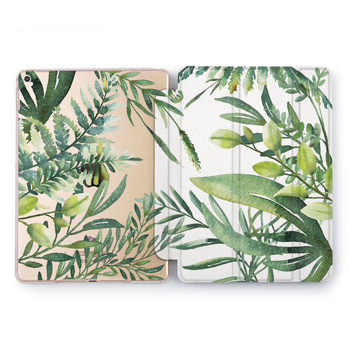 Lex Altern Green Branch Case for your Apple tablet.