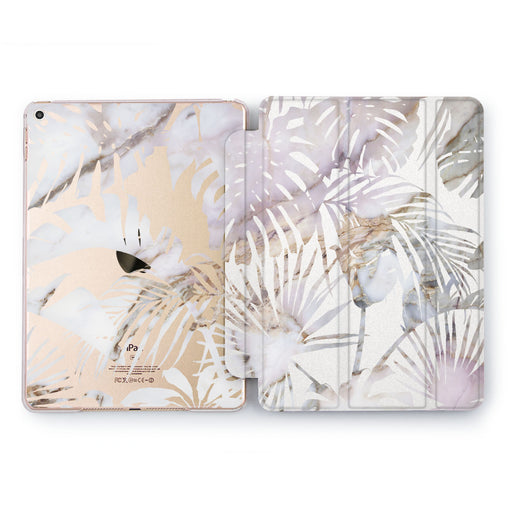 Lex Altern Marble Palm Case for your Apple tablet.