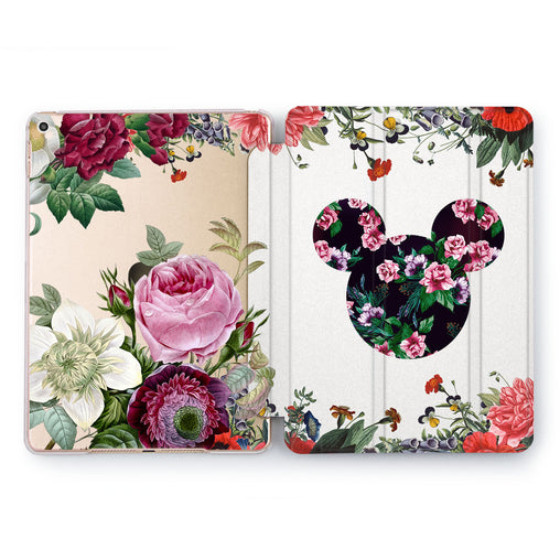 Lex Altern Floral Disney iPad Case for your Apple tablet.