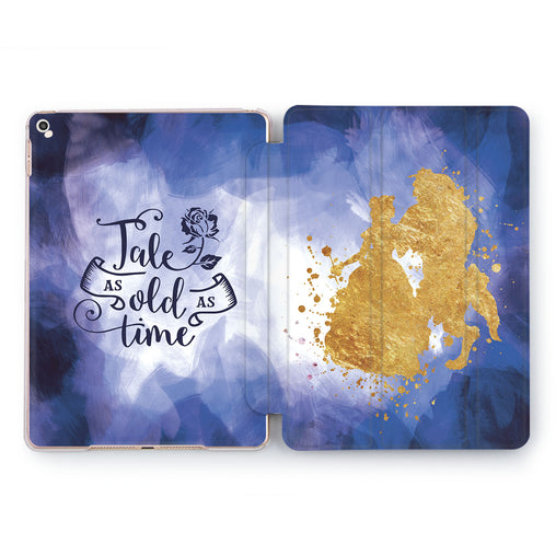 Lex Altern Beauty and Beast iPad Case for your Apple tablet.