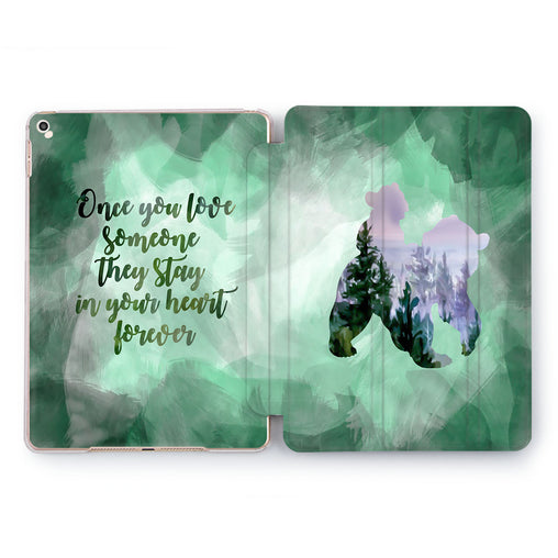 Lex Altern Brother Bear iPad Case for your Apple tablet.