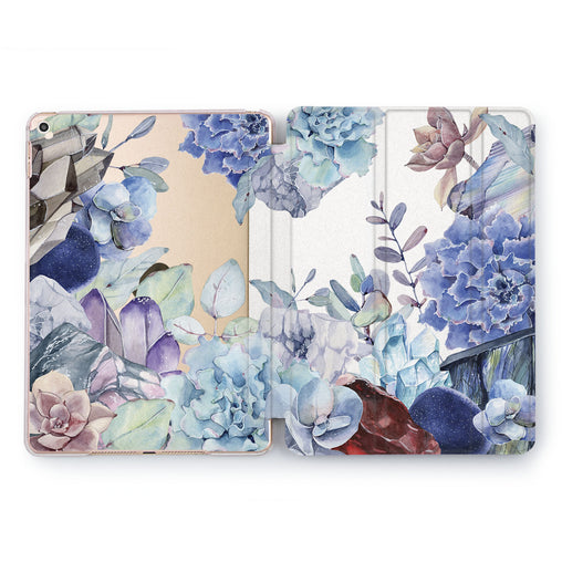 Lex Altern Crystal Succulent iPad Case for your Apple tablet.
