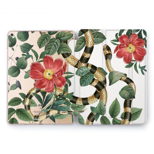 Lex Altern Plant Serpent Case for your Apple tablet.