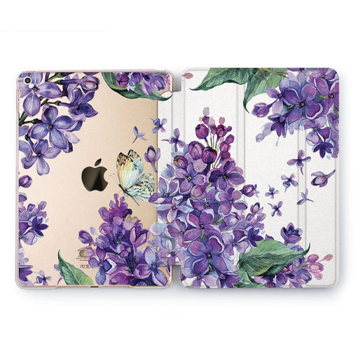 Lex Altern Purple Lilac Case for your Apple tablet.