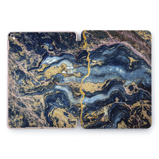 Lex Altern Blue Marble Case for your Apple tablet.