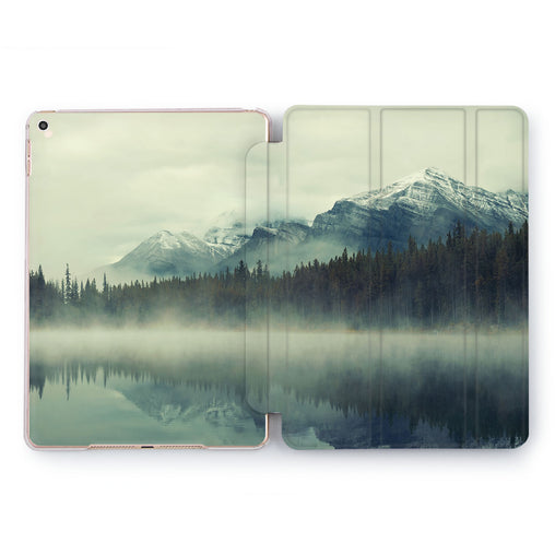 Lex Altern Foggy River Case for your Apple tablet.