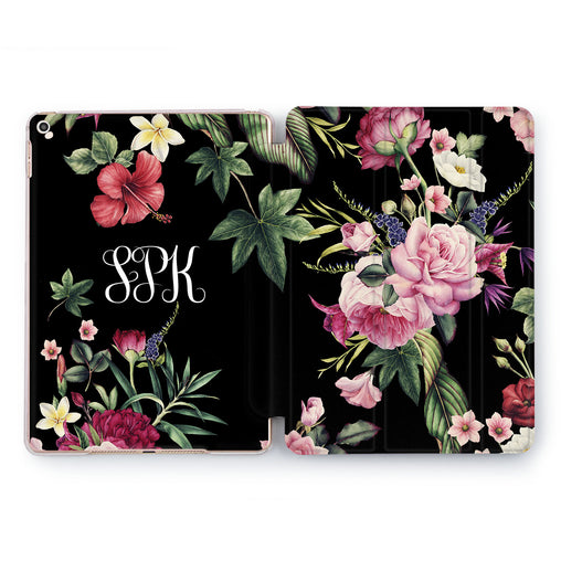 Lex Altern Dark Roses Case for your Apple tablet.