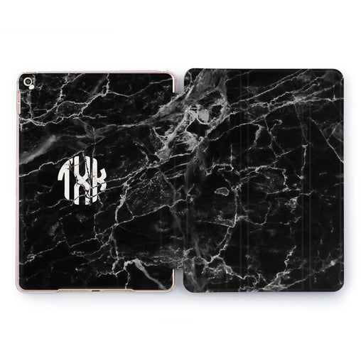 Lex Altern Black Marble Case for your Apple tablet.