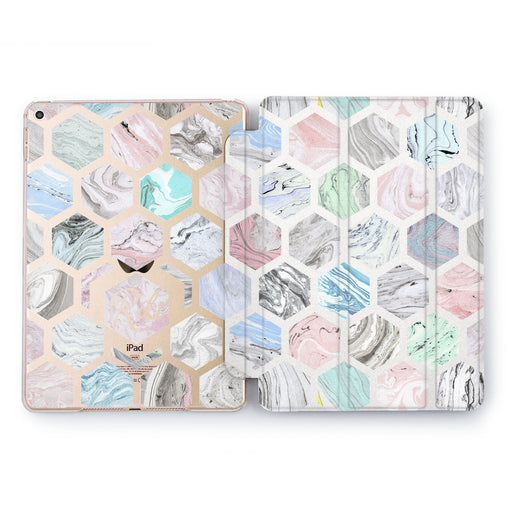 Lex Altern Colorful Geometric Case for your Apple tablet.