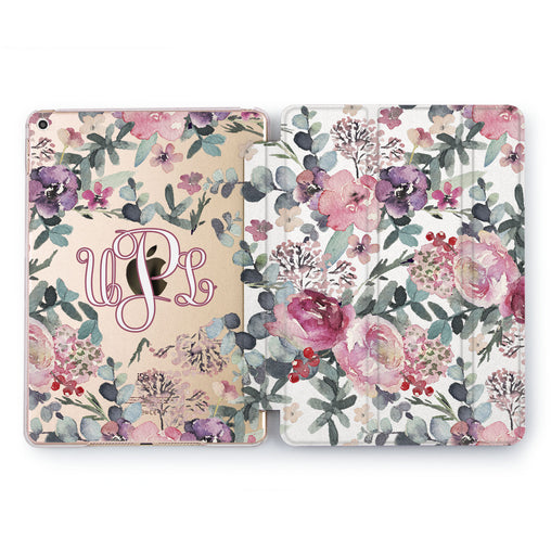 Lex Altern Floral Ornament Case for your Apple tablet.