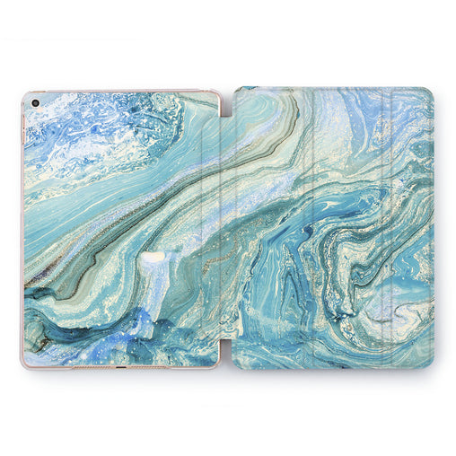 Lex Altern Blue Liquid Case for your Apple tablet.