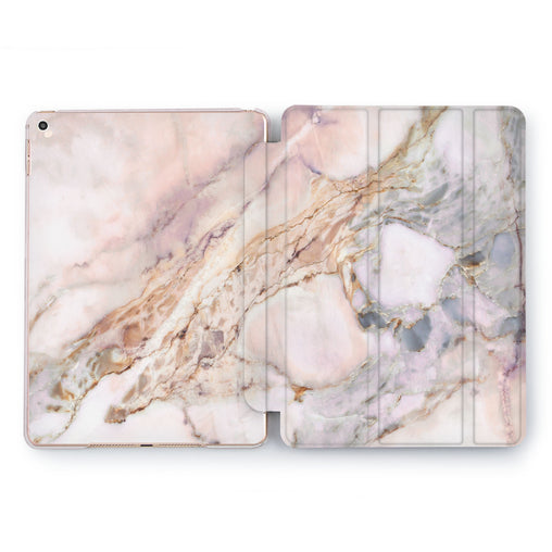 Lex Altern Beige Marble Case for your Apple tablet.