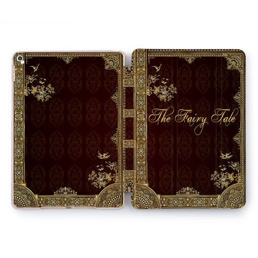 Lex Altern Fairy Tale Book Case for your Apple tablet.