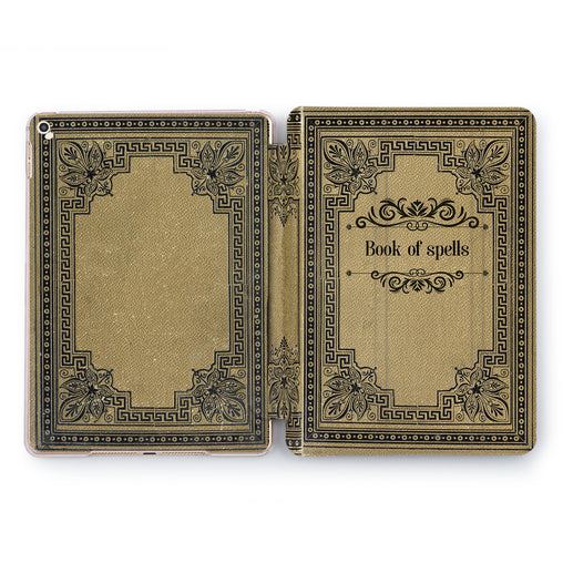 Lex Altern Book of spells Case for your Apple tablet.