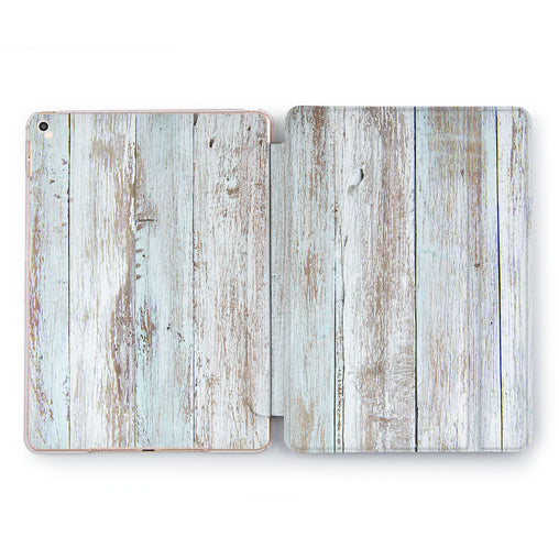 Lex Altern Painted Wood Case for your Apple tablet.