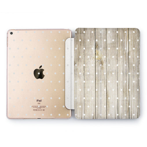 Lex Altern Polka Dot Case for your Apple tablet.