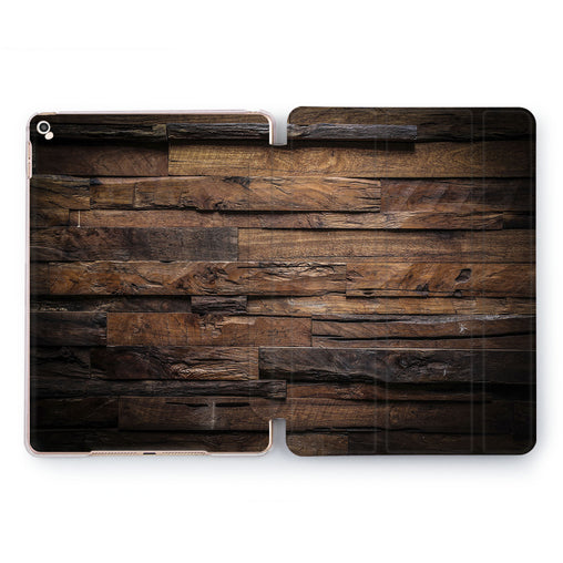Lex Altern Brown Wood Case for your Apple tablet.