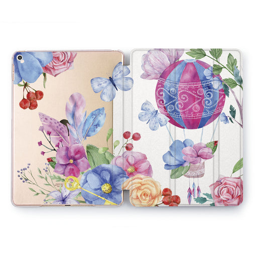 Lex Altern Flower Balloon Case for your Apple tablet.