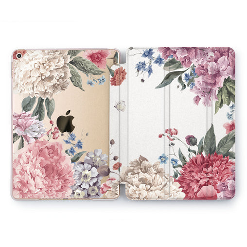 Lex Altern Flower View Case for your Apple tablet.