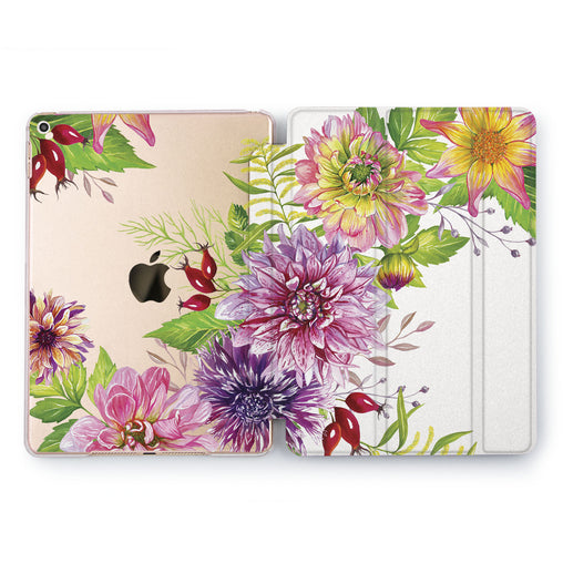 Lex Altern Floral Bud Case for your Apple tablet.