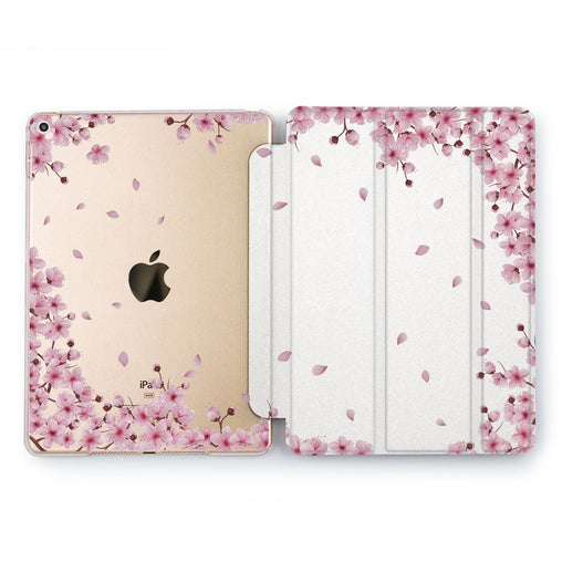 Lex Altern Sakura Bloom Case for your Apple tablet.