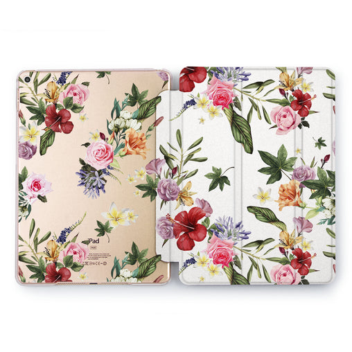 Lex Altern Floral Beauty Case for your Apple tablet.