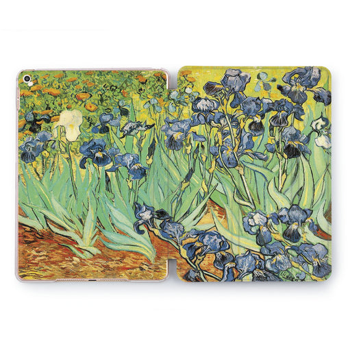 Lex Altern Blue Orchid Case for your Apple tablet.