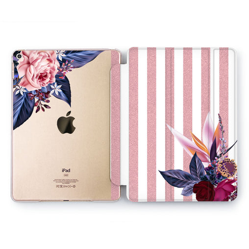 Lex Altern Flowers Collection Case for your Apple tablet.