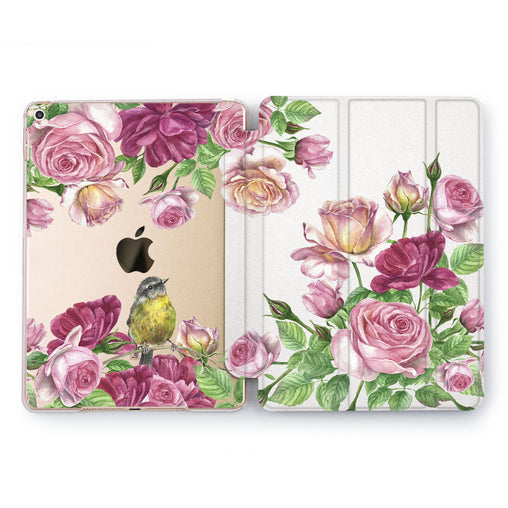 Lex Altern Rose Garden Case for your Apple tablet.