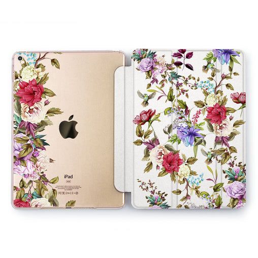 Lex Altern Orchid Beauty Case for your Apple tablet.