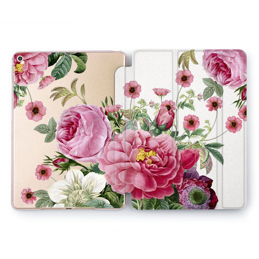 Lex Altern Wild Roses Case for your Apple tablet.
