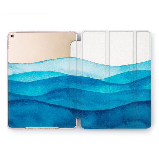 Lex Altern Blue Wave Case for your Apple tablet.