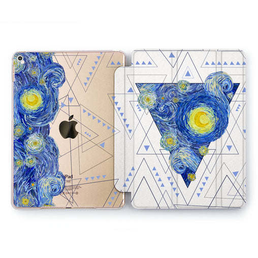 Lex Altern Night sky triangle Case for your Apple tablet.
