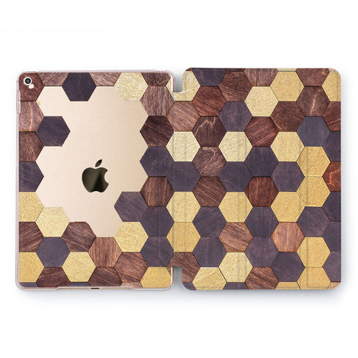 Lex Altern Wooden puzzle Case for your Apple tablet.