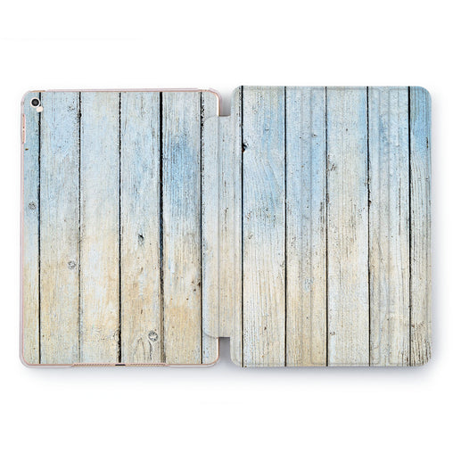 Lex Altern Summer Plank Case for your Apple tablet.