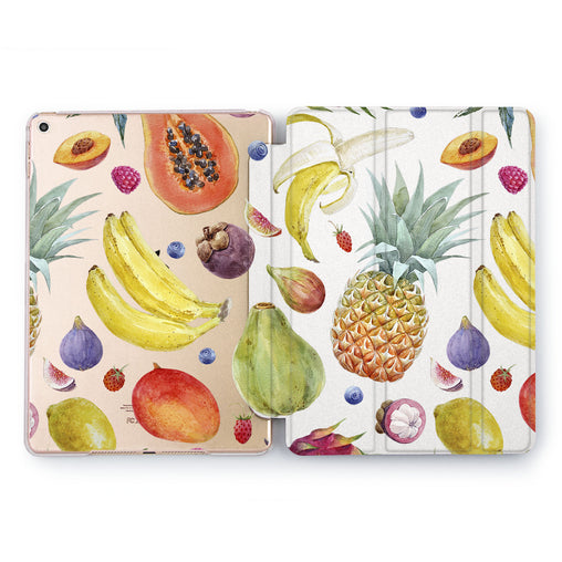 Lex Altern Fruit table Case for your Apple tablet.