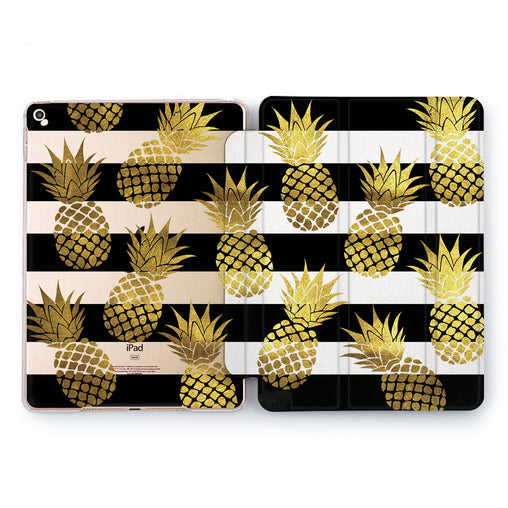 Lex Altern Pineapple Fall Case for your Apple tablet.