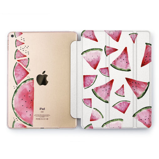Lex Altern Watermelon Slice Case for your Apple tablet.
