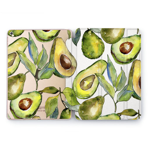 Lex Altern Avocado Print Case for your Apple tablet.