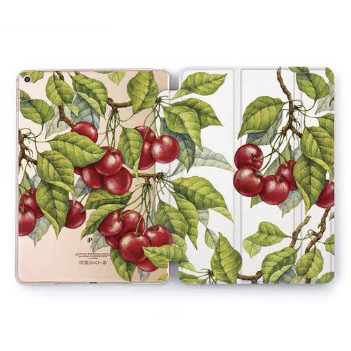 Lex Altern Cherry Tree Case for your Apple tablet.