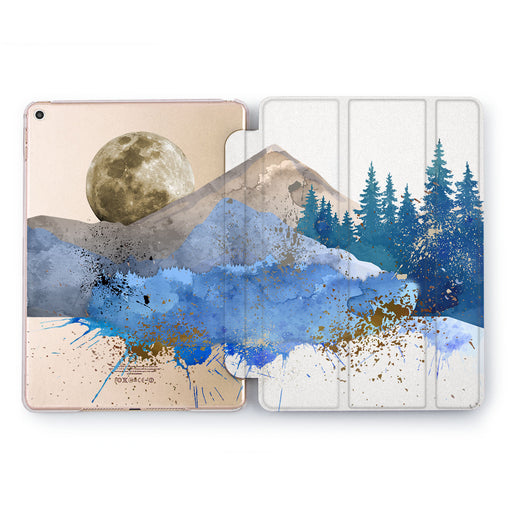 Lex Altern Blue Forest Case for your Apple tablet.